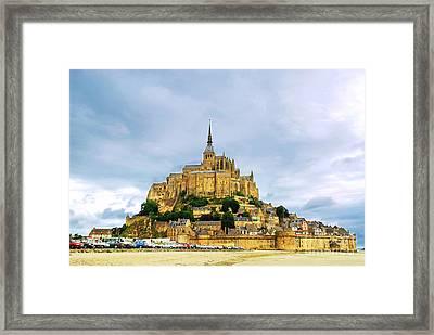 Mont Saint Michel Framed Print