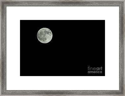 Moon Framed Print by Odon Czintos