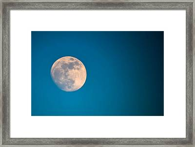 Moonscape Framed Print by Brian Stevens