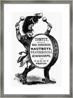 Mortised Cut, 19th Century Framed Print by Granger