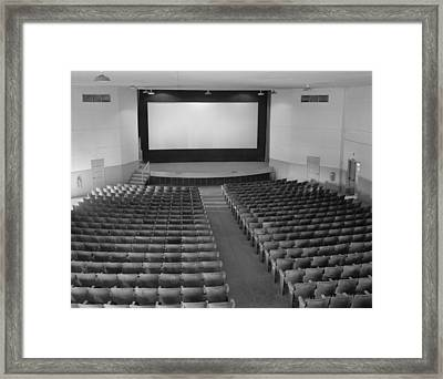 Movie Theaters, The Fort Mccoy Framed Print by Everett