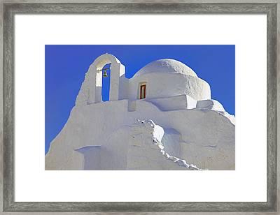 Mykonos Framed Print by Joana Kruse