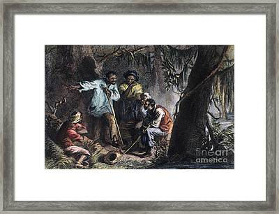 Nat Turner (1800-1831) Framed Print by Granger