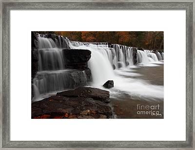 Natural Dam Framed Print by Steve Javorsky