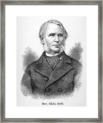 Neal Dow (1804-1897) Framed Print by Granger