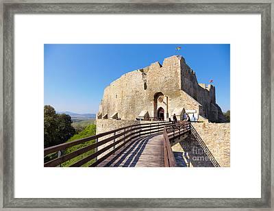 Neamt Fortress Framed Print by Gabriela Insuratelu