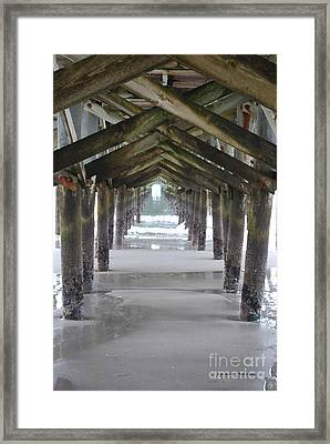 Neptunes Cathedral Framed Print by Gordon Mooneyhan