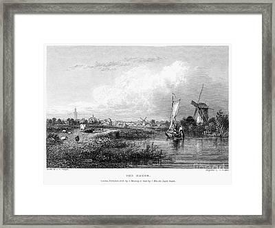 Netherlands: The Hague Framed Print by Granger