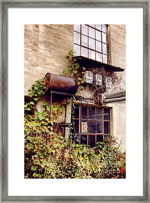 Noble And Cooley Drum Factory Framed Print