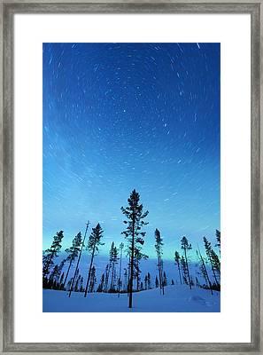 Northern Lights Framed Print by Jeremy Walker