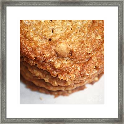 Oatmeal Cookies Framed Print