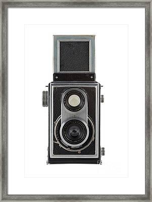 Old Camera Framed Print by Michal Boubin
