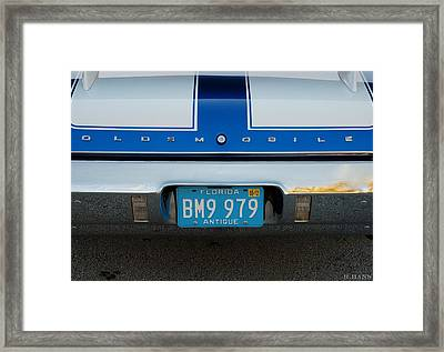 Olds C S Framed Print by Rob Hans