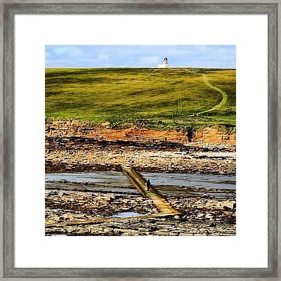#orkney's #landscape Framed Print