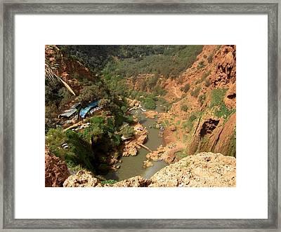 Ouzoud Falls Morocco Framed Print by Sophie Vigneault
