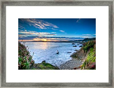 Pacific Grove Sunrise Framed Print