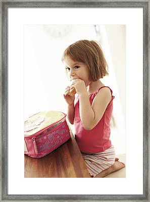 Packed Lunch Framed Print