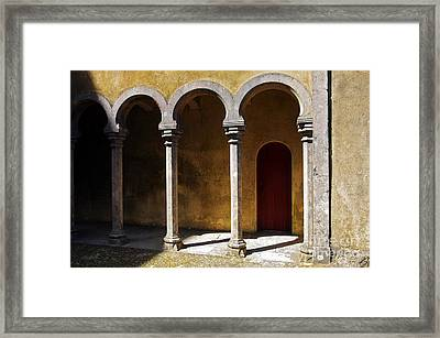 Palace Arch Framed Print by Carlos Caetano