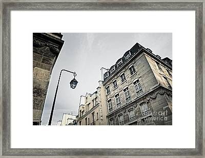 Paris Street Framed Print by Elena Elisseeva