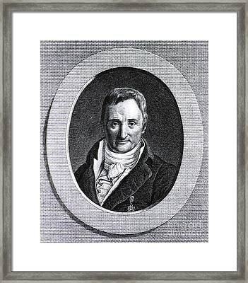 Philippe Pinel, French Physician Framed Print by Science Source