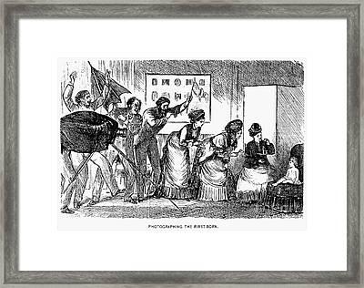 Photography, 1876 Framed Print by Granger
