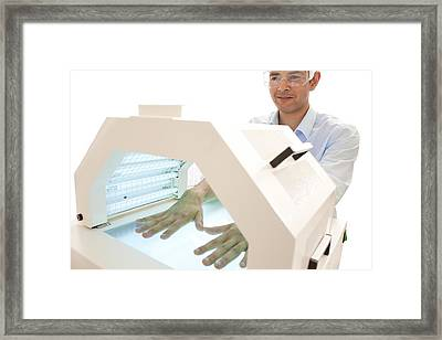 Phototherapy Framed Print