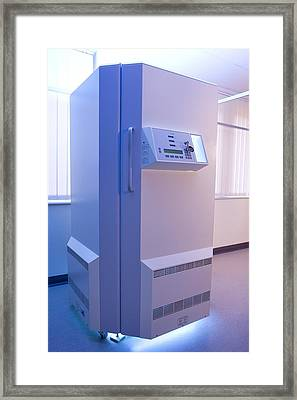 Phototherapy Booth Framed Print