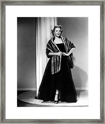 Piper Laurie, 1954 Framed Print by Everett