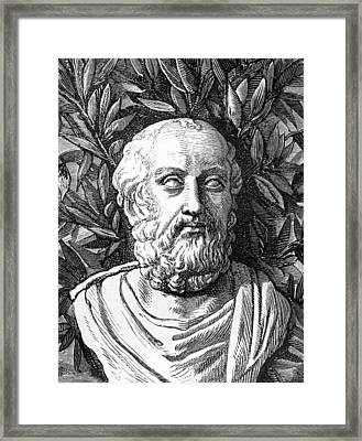 Plato, Ancient Greek Philosopher Framed Print