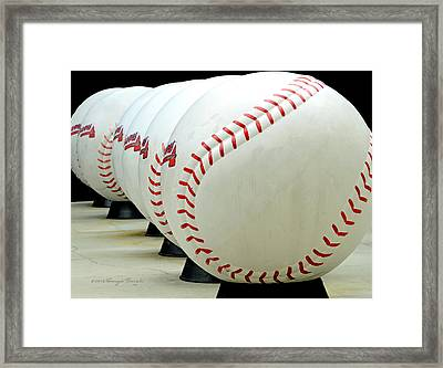 Play Ball....... Framed Print