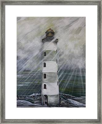 Point Lookout Lighthouse Framed Print