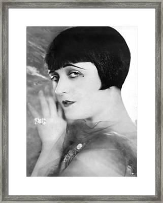 Pola Negri, Ca. Mid-1920s Framed Print by Everett