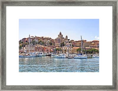Porto Maurizio - Imperia Framed Print by Joana Kruse