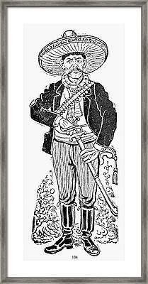 Posada: Revolutionary Framed Print by Granger