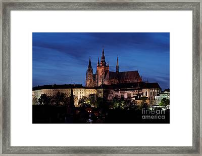 Prague Castle Framed Print by Michal Boubin