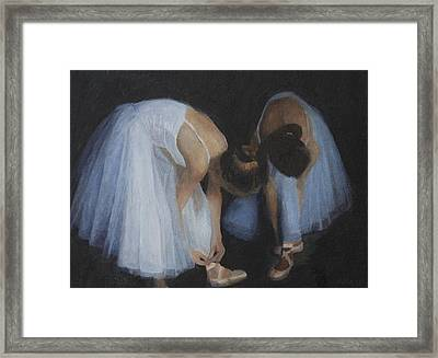 Preparation Framed Print by Masami Iida