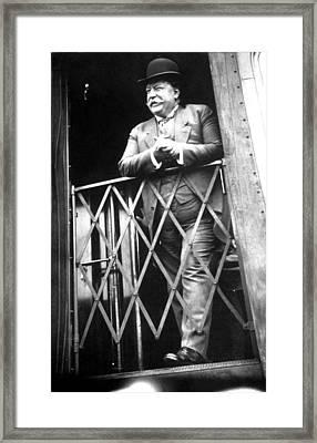 President William Howard Taft Framed Print