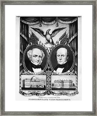 Presidential Campaign, 1848 Framed Print