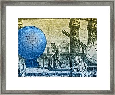 Ptolemy, Alexandria Observatory, 2nd Framed Print