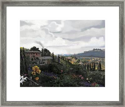 Pucino Framed Print by Brad Burns