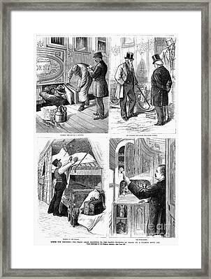 Pullman Car, 1877 Framed Print