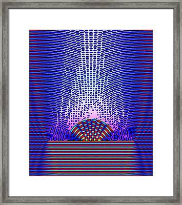 Quantum Resonance Framed Print by Eric Heller