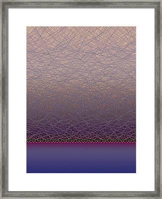 Quantum Waves Framed Print by Eric Heller