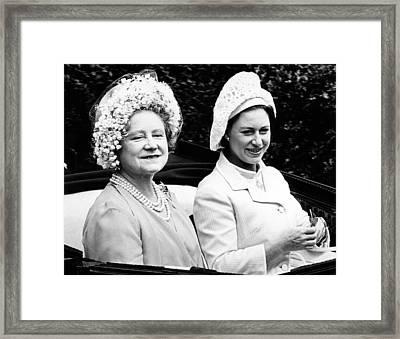 Queen Elizabeth The Queen Mother Framed Print