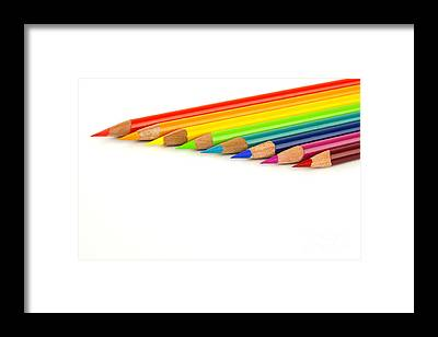 Colored Pencil Drawings Framed Prints
