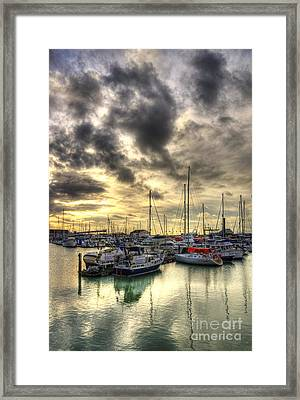 Ramsgate Harbour Framed Print by Lee-Anne Rafferty-Evans