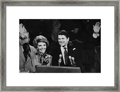 Reagan Presidency. Republican Party Framed Print