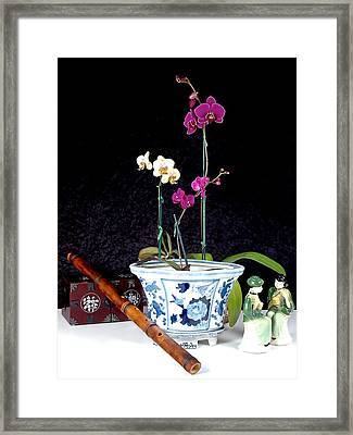 Framed Print featuring the photograph Rendezvous by Elf Evans