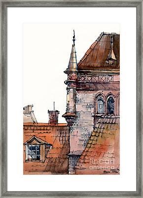Riga Framed Print by Natalia Eremeyeva Duarte