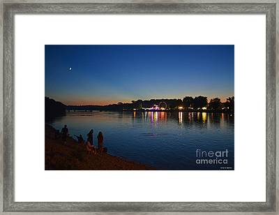 Riverview Framed Print by Sue Stefanowicz